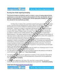How to write nursing case study essays  Student Case Study