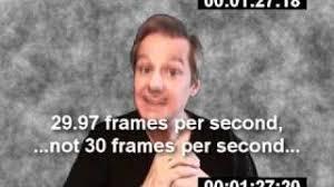 time code drop frame vs non drop