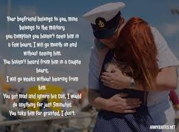 Military Love Quotes Stunning Army Girlfriend Quotes Collection