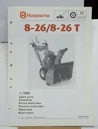 husqvarna 8 26 spare parts