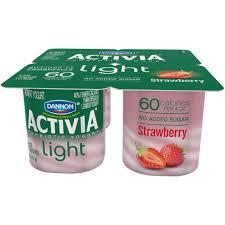 Activia Light Sugar Content Ewgs Food Scores Dannon Activia Lowfat Yogurt Strawberry