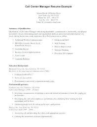 Sample Resume For A Call Center Agent Resume For Call Center Agent No Experience Englishor Com