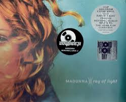 Madonna Ray Of Light Vinyl Clear