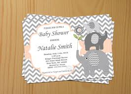 Free Baby Shower Invitations Templates For Word Editable Baby Shower Invitation Elephant Baby Shower 18