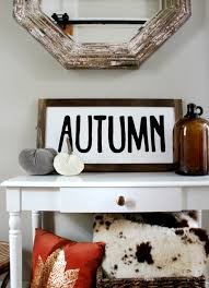 diy fall home decor sign