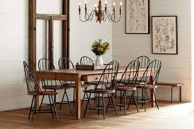 home graceful round farmhouse kitchen table 25 wood dining large for and chairs pedestal breakfast