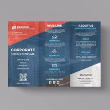 Brochure Trifold Template Free Trifold Brochure Png Vector Psd And Clipart With