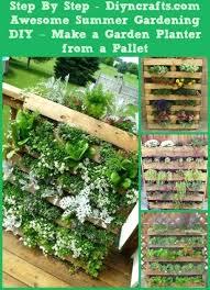 diy vertical herb garden pallet planter diy vertical herb garden planter box