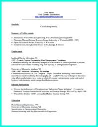 Writing A Cover Letter Engineering Internship Free Chemical