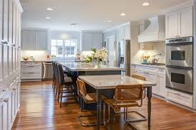 Epic Dining Room Design Ideas With Additional Table Attached To Island  Kitchen Traditional With Counter Stools