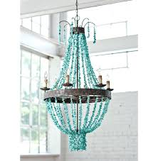 turquoise blue beaded chandelier lighting connection blue beaded chandelier blue glass beaded chandelier view full size