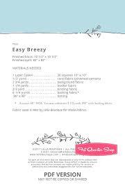 Easy Breezy Downloadable PDF Quilt Pattern Lella Boutique | Fat ... & ... Easy Breezy Downloadable PDF Quilt Pattern<BR>Lella Boutique Adamdwight.com