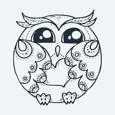 T shirt coloring page back. Cute Little Bird Cartoon Hand Drawn Vector Illustration Cute For Baby Coloring Pages T Shirt Print Fashion Prints And Other Stock Vector Illustration Of Owlet Drawn 147971798