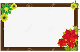 frame. Beautiful Flower Frame Stock Vector - 11570629 L