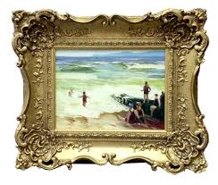 oil painting on board framed traditional frames