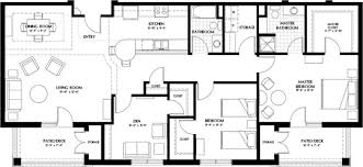 Luxury Two Bedroom Apartment Floor Plans And Luxury Apartment Homes Two  Bedroom With Den Floor Plan Westminster