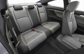 2017 honda civic coupe with leather seat t