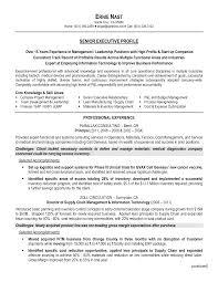 Resume Cv Cover Letter Senior Logistic Management Resume Director