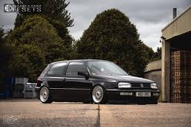 1 1997 golf volkswagen rayvern bagged bbs rs polished