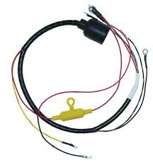 cdi engine wiring harnesses marine engine parts fishing tackle wire harness internal for johnson evinrude round plug 1978 55hp 581973