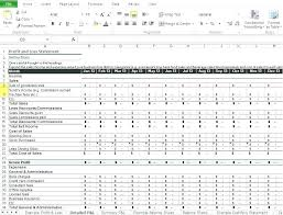 profit and loss account sample profit and loss spreadsheet template balance sheet template profit