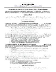 Sample Social Media Resume resume social media tomoney 61