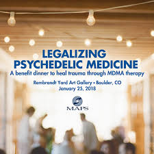 You Are Invited To A Benefit Dinner To Heal Trauma Through Mdma