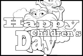 Resultado de imagen para Child's Day coloring pages