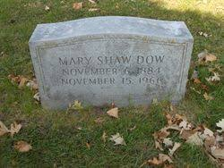 Mary Iva Shaw Dow (1884-1966) - Find A Grave Memorial