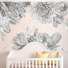 protea oversized fl wall stickers