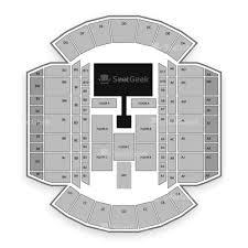 Mississippi Coliseum Seating Chart Map Seatgeek