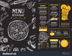 Free Restaurant Menu Maker Online Popular Restaurant Cafe Menu