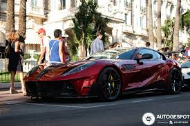 Originally based on the ferrari 599 gtb, it was updated when ferrari moved to the f12 platform and is updated yet again for the 812 platform. Ferrari 812 Superfast Mansory Stallone 18 April 2020 Autogespot