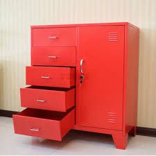 metal storage cabinet with drawers. Living Room Furniture Corner Red Metal Storage Cabinet Drawers Locker Drawer Sale And With