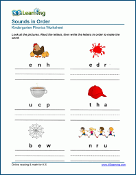Kids can develop their english and math skills with worksheets that cover phonics, addition, color by number, color by letter, and writing. Jumbled Letter Worksheets For Preschool Kindergarten K5 Learning