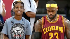 lebron james son playing basketball at home. Interesting Son Never Miss A Moment On Lebron James Son Playing Basketball At Home