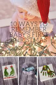 10 Ways to Remember Baby's First Christmas