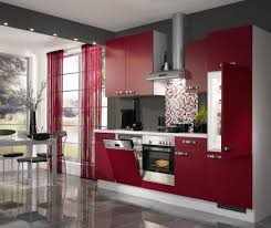 Colour For Kitchen Splash Of Color As Kitchen Cabinets Ward Log Homes