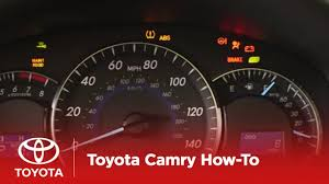 2017 Camry Warning Lights 2014 Camry How To Dashboard Warning Lights Toyota