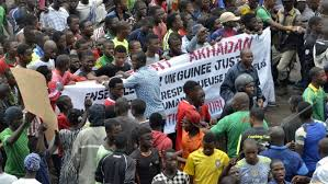 Man killed as 500,000 join Guinea opposition rally | Corruption ...