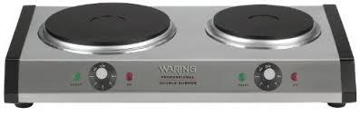 Amazoncom Waring DB60 Portable Double Burner Electric Countertop
