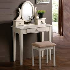 image of white vanity table photo gallery