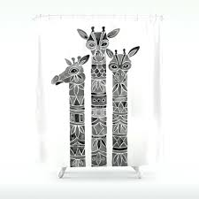 giraffe shower curtain target shower ideas giraffe riding shark shower curtain animal print shower curtain