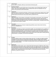 Research Proposal Template Gorgeous Free Download Sample Sample Research Paper Proposal Template 48 Free
