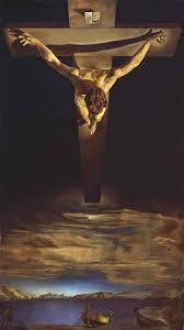 christ of saint john of the cross by salvador dali