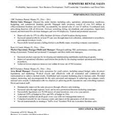Furniture Sales Resume Free Resume Example And Writing Download