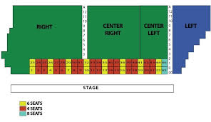 Seating Chart Fort Griffin Fandangle
