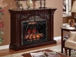 astoria infrared electric fireplace mantel in empire cherry 33wm0194 c232
