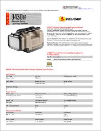 Advantage Lighting System 9430ir Lighting System Brochure Manualzz Com