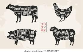 Vintage Butcher Chart Images Stock Photos Vectors